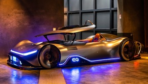 Vision EQ Silver Arrow Showcar bei der Monterey Car Week