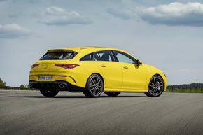 Der neue Mercedes-AMG CLA 35 4MATIC Shooting Brake
