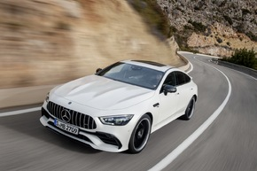 Mercedes-AMG GT 4-Türer Coupé: Performance trifft Design
