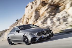 Der neue Mercedes-Benz CLS -   The Original perfected