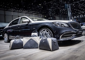 Exklusive Kollektion von MAYBACH – ICONS OF LUXURY