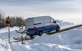 Mercedes-Benz eSprinter absolvierte seine finale Wintererprobung am Polarkreis