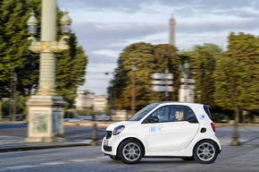 car2go startet in Paris