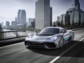 Weltpremiere Showcar Mercedes-AMG Project ONE